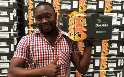 First shipment of Dakahlia citrus arrives in Angola